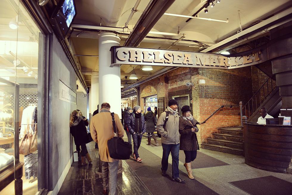 チェルシーマーケットの入口