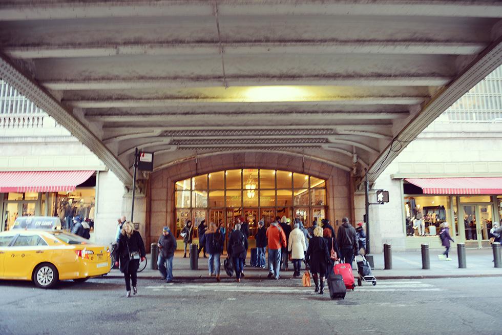 グランド・セントラル・ターミナル(Grand Central Terminal)の入口