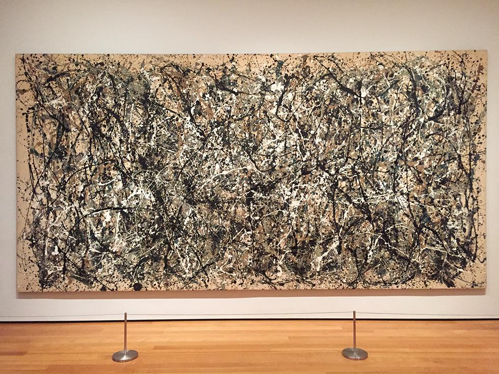 ジャクソン・ポロック(Jackson Pollock)の「One: Number 31」