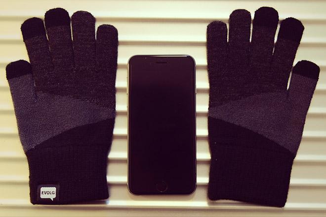 EVOLGのスマホ対応手袋