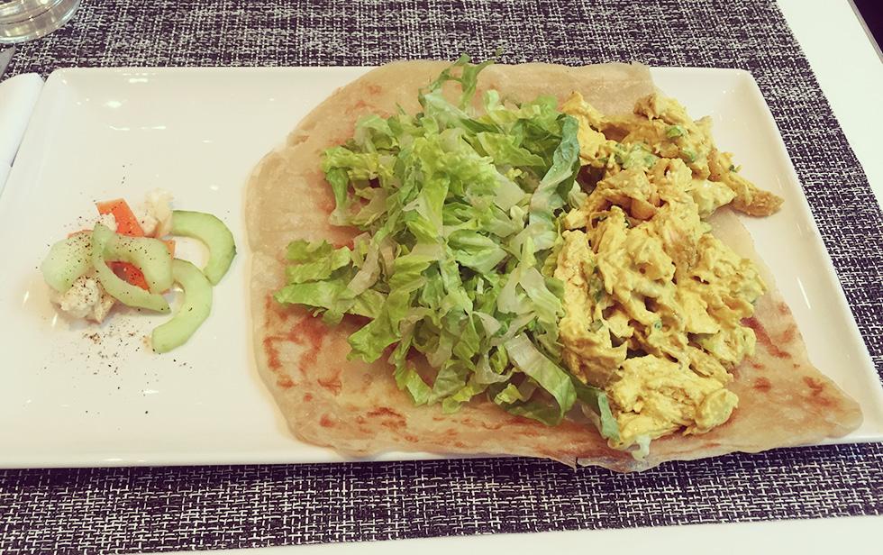 オーガニック・カレー・チキン・サラダ