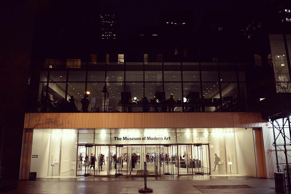 MoMA(ニューヨーク近代美術館)入口