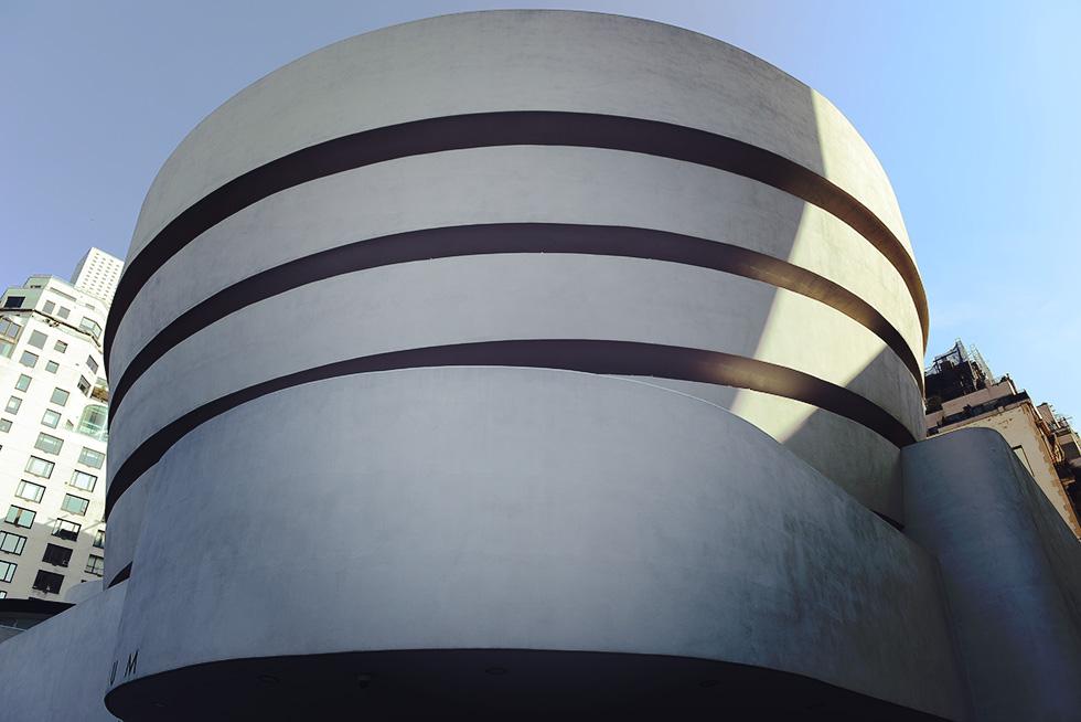 グッゲンハイム美術館の外観