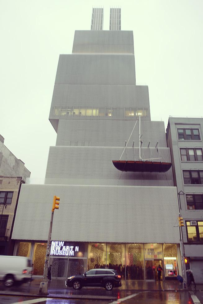 ニューミュージアムの外観