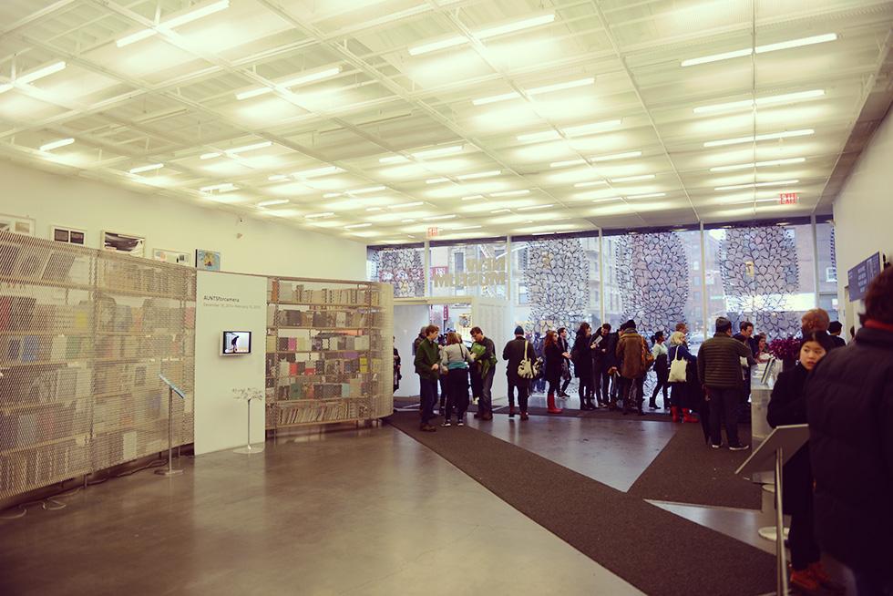 ニューミュージアムの1階