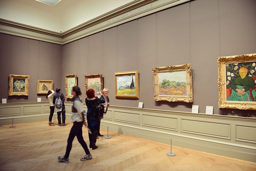 写真で見るメトロポリタン美術館の歴史的な絵画〜ゴッホ・モネ・ゴーギャンなど Ourlifeisajourney