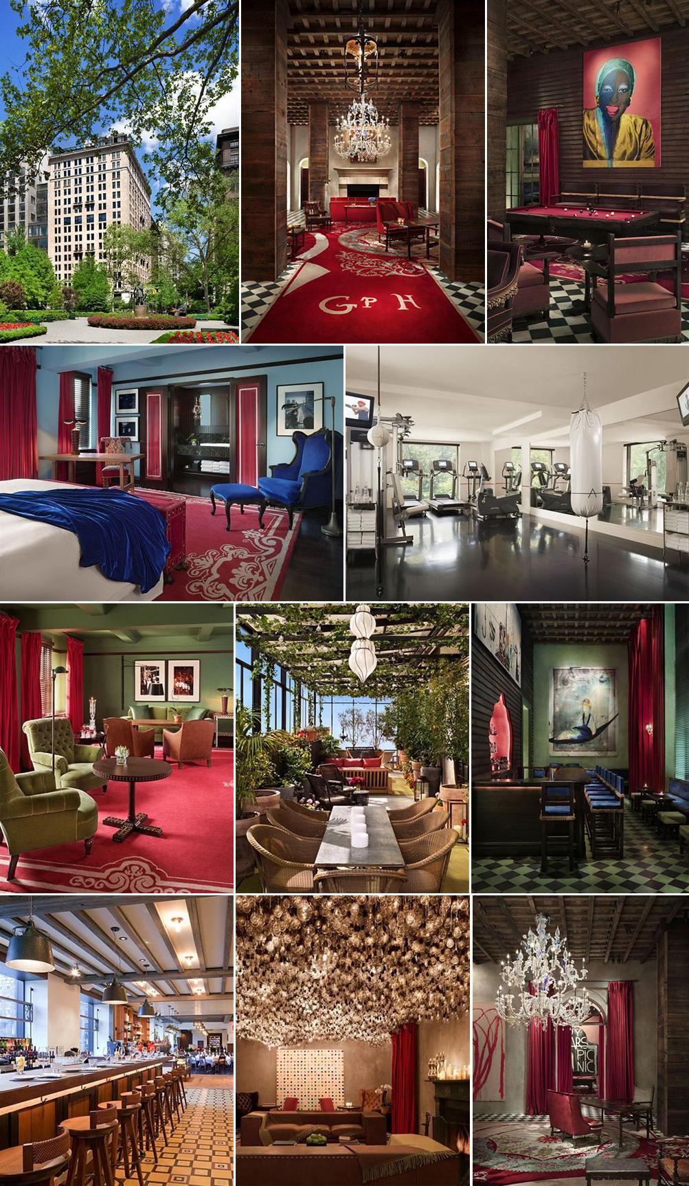 グラマシーパークホテル(Gramercy Park Hotel)