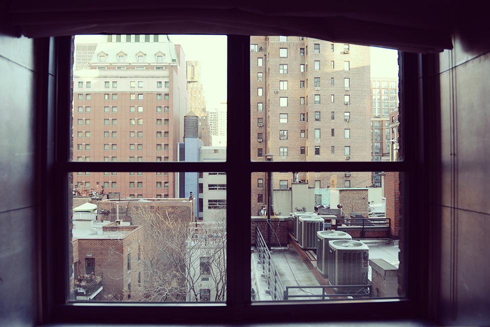 部屋から見える景色