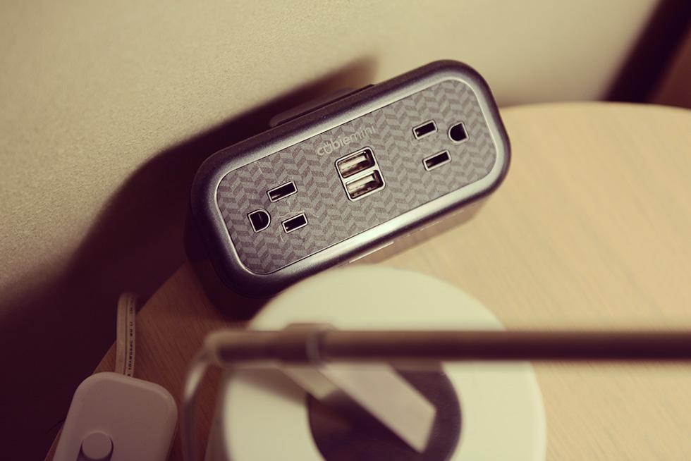 USB用のコンセント
