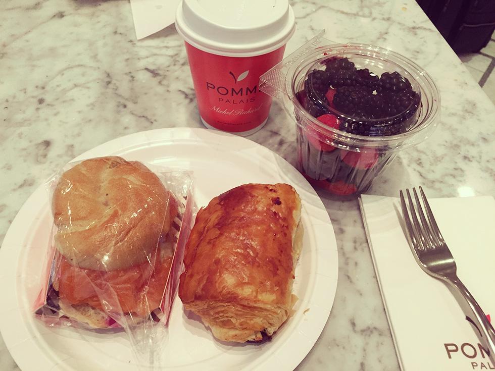 POMME PALAIS(ポム パレス)の朝食