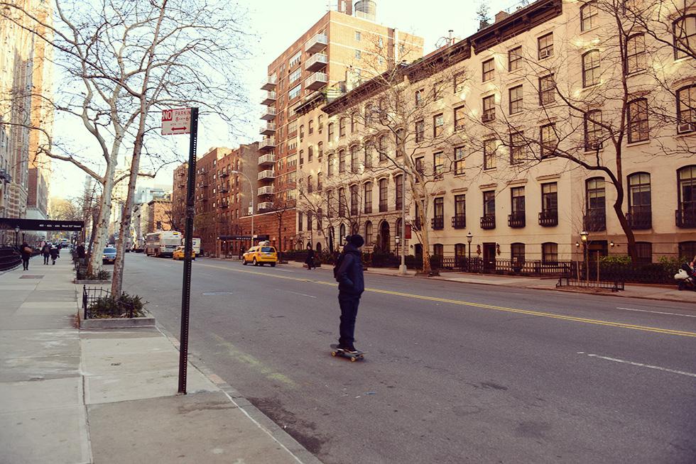ニューヨークの街並