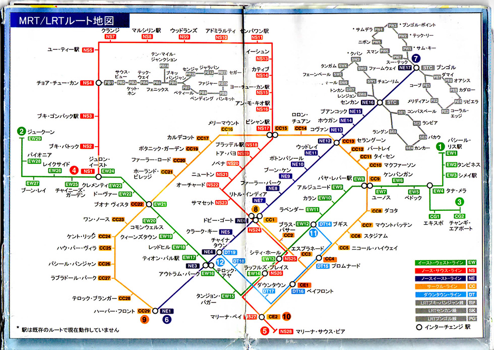 電車の路線