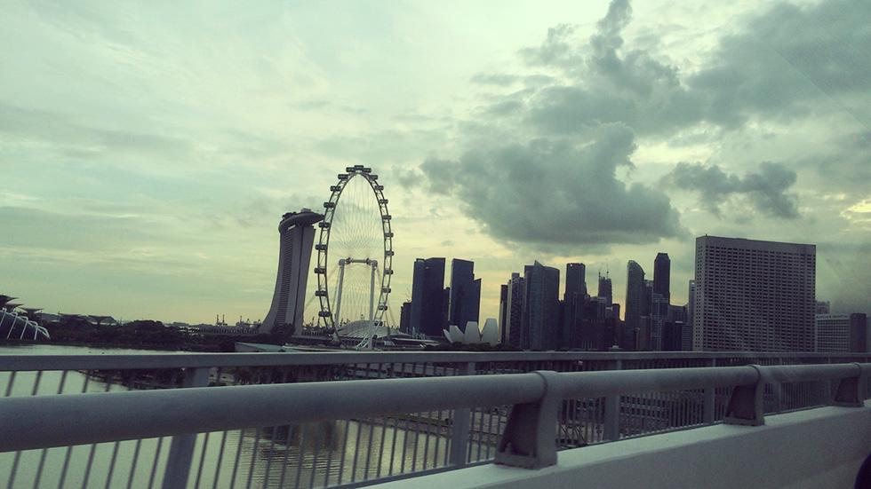 マリーナベイサンズとシンガポール・フライヤー