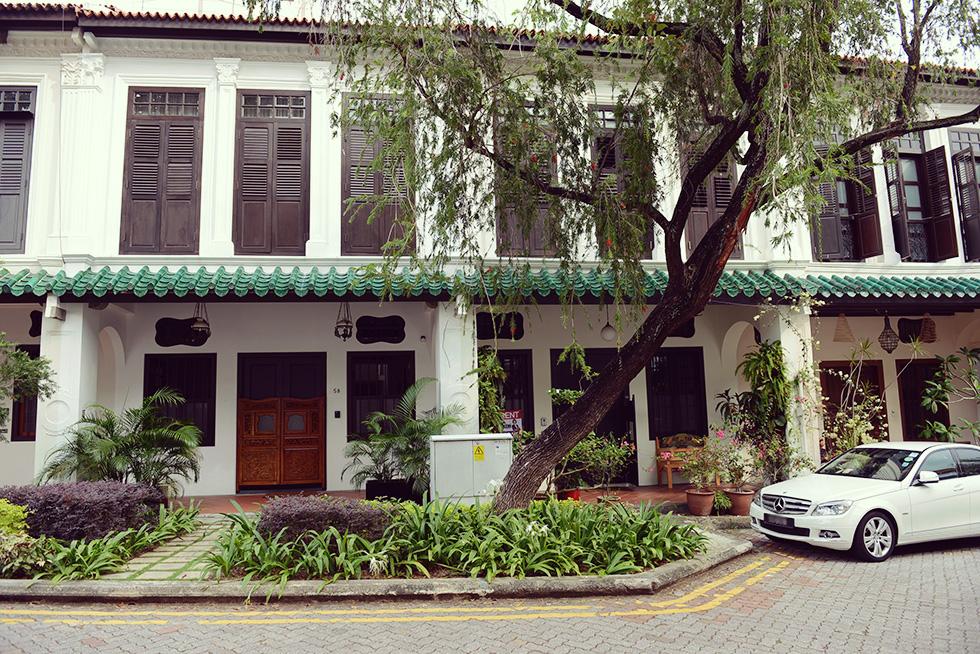 プラナカン様式の建物