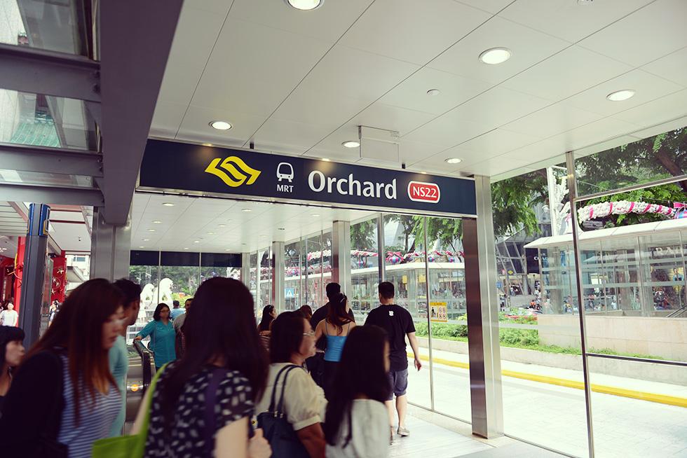 オーチャード駅