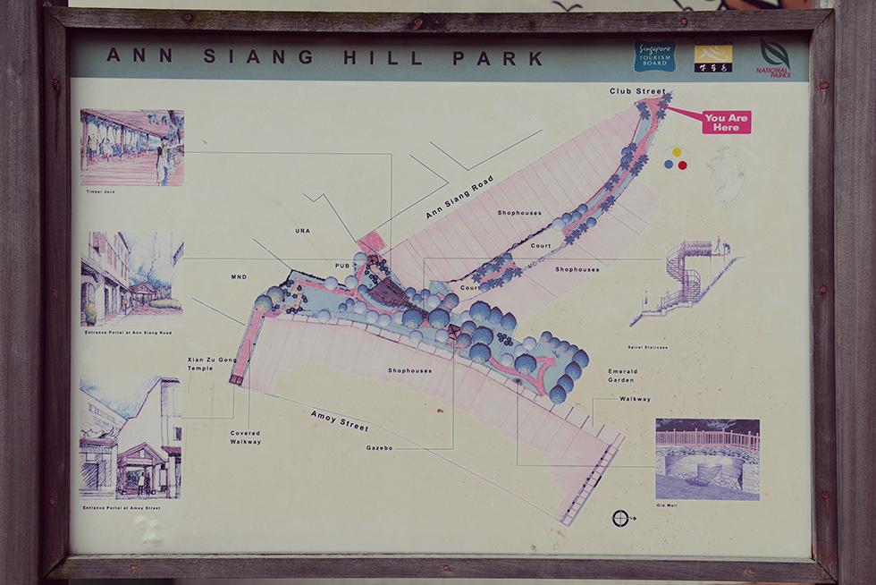 Ann Siang Hill Parkのマップ