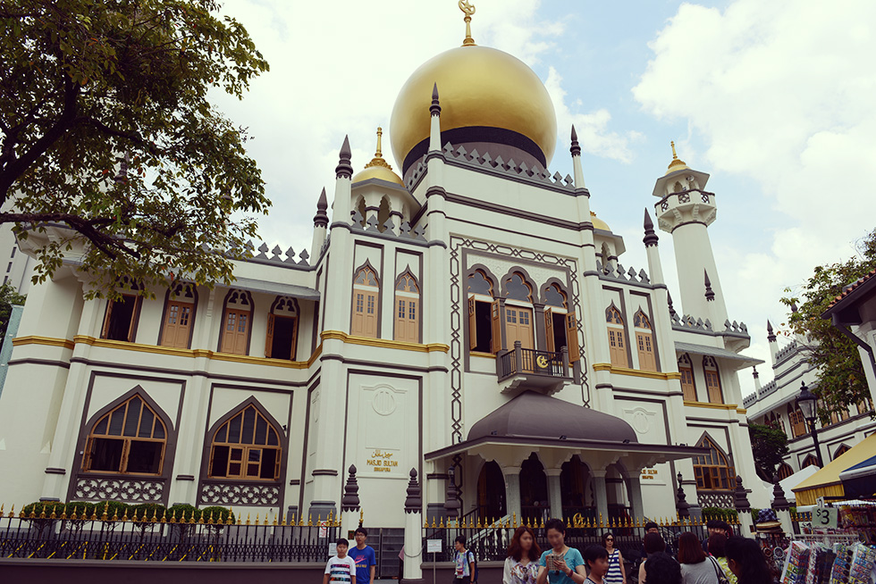サルタン・モスク(Sultan Mosque / Masjid Sultan)