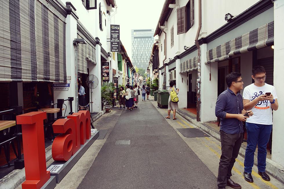 ハジ・レーン(Haji Lane)