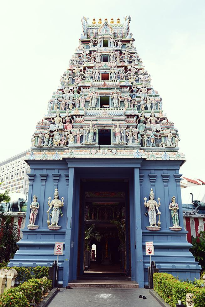スリ・スリニバサ・ペルマル寺院(Sri Srinivasa Perumal Temple)