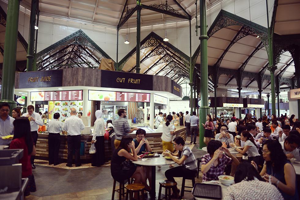ラオ・パ・サ・フェスティバル・マーケット(Lau Pa Sat Festival Market)