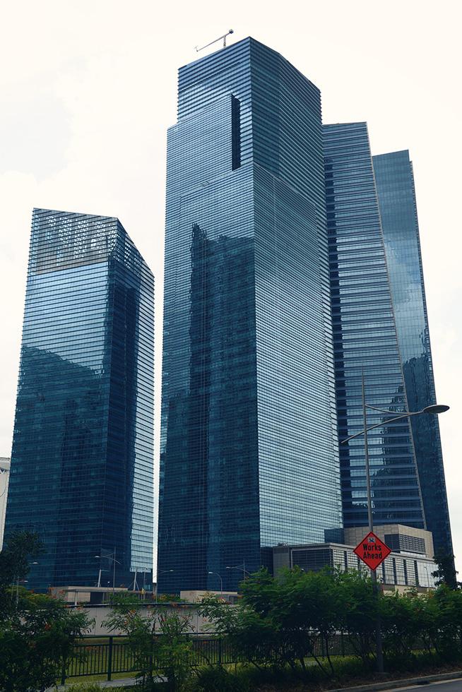 Marina Bay Financial Centre(マリーナ・ベイ・ファイナンシャル・センター)