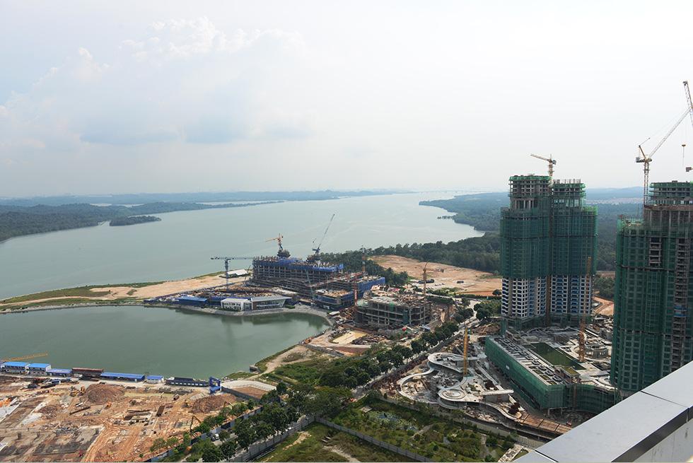 高層マンションやビルの建設