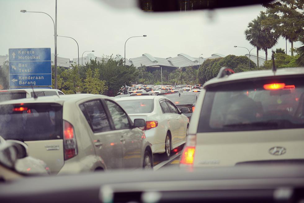 すっごい渋滞