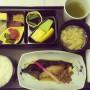 JFK国際空港のラウンジとANAビジネスクラス帰国便の食事